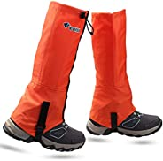 MAGARROW Leg Gaiters Hiking Snow Boot Gaiter Outdoor Waterproof Gaiters Oxford Fabric Shoes Cover