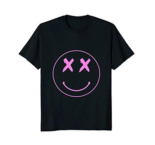 (Alternative Rock Punk Smiley Face X Eyes Shirt)