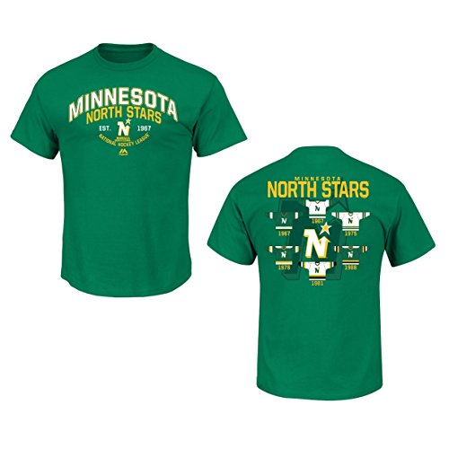 Minnesota North Stars Green Vintage Jersey History T-Shirt -