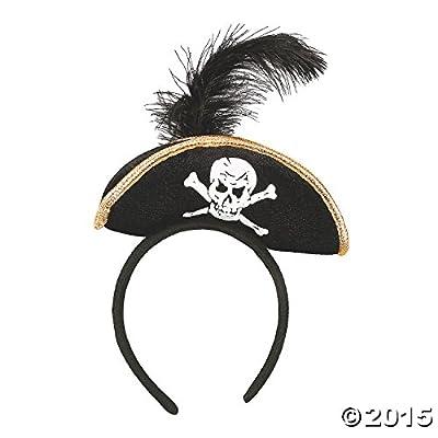 Plush Pirate Headband from Fun Express