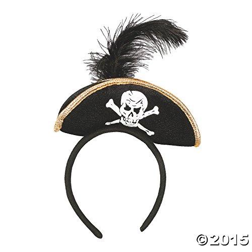 Premier Pirate Costumes (Plush Pirate Headband)
