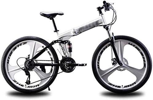 Bicicletas de montaña plegables con suspensión doble para niños ...