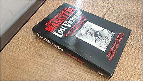 Ebooks Lost Victories: War Memoirs of Hitler's Most Brilliant General Download PDF