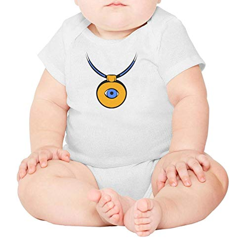 Price comparison product image Amulet Against The Evil Eye icon Cartoon Unisex Baby Cotton Short Sleeve Toddler Clothes Baby Onesies