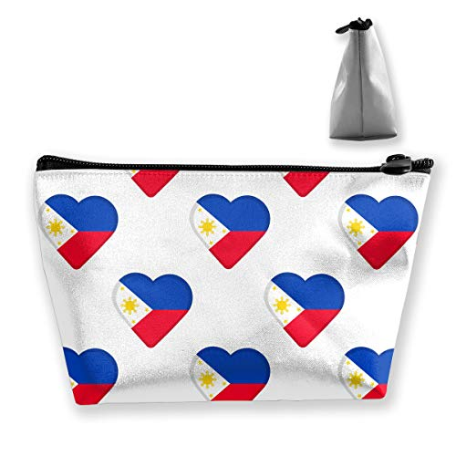 Trapezoid Storage Bag Buggy Bag Travel&Home Bag - Flag of Philippines Pattern Printed Cosmetic Bags Toiletry Bag Make-up Receive - Portable (Best Breast Pump Philippines)