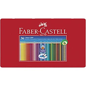 Amazon.com : Faber-Castell 48 Colour Grip Pencil : Office ...
