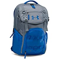 Under Armour UA Storm Coalition Backpack One Size Fits All Steel At A Glance Review Image
