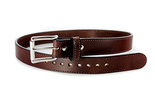 Daltech Force Bullbelt Gun Belt Steel Core Ultimate Thickness 100% Full Grain Leather