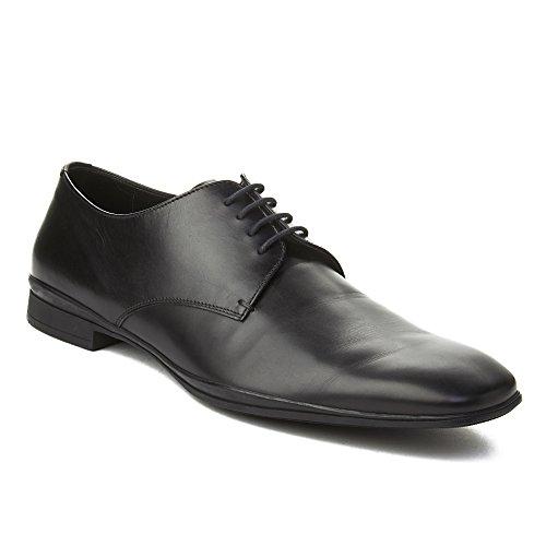Prada Mens Leather Oxford Dress Shoes Black 6fahG