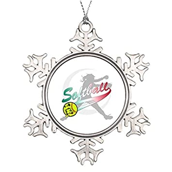 Amazon Com Onemtoss Christmas Snowflake Ornament