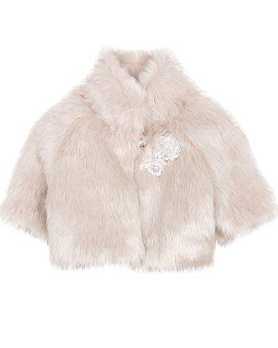 Biscotti Girls' Wishful Thinking Faux Fur Jacket, Sizes 4-16 - 6