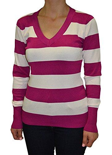 Spandex Striped Sweater - 2