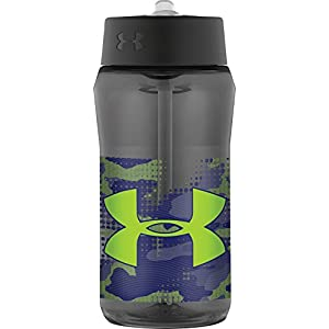 Under Armour Celestial 18 Ounce Hydration Bottle with Straw Top, Charcoal