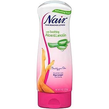 Amazon Com Nair Hair Aloe Lanolin Hair Removal Lotion With