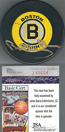 AUTOGRAPHED Bobby Orr Boston Bruins Puck -JSA