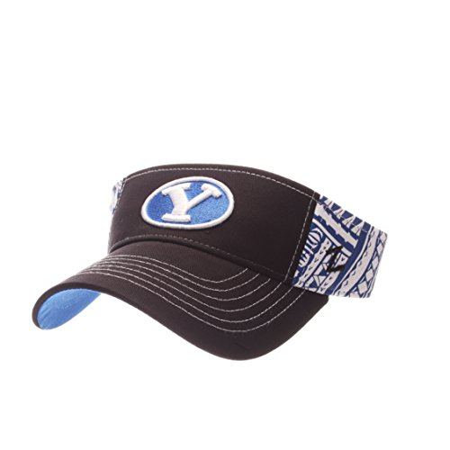 Zephyr NCAA BYU Cougars Adult Men's Hanauma Visor, Adjustable Size, Team Color