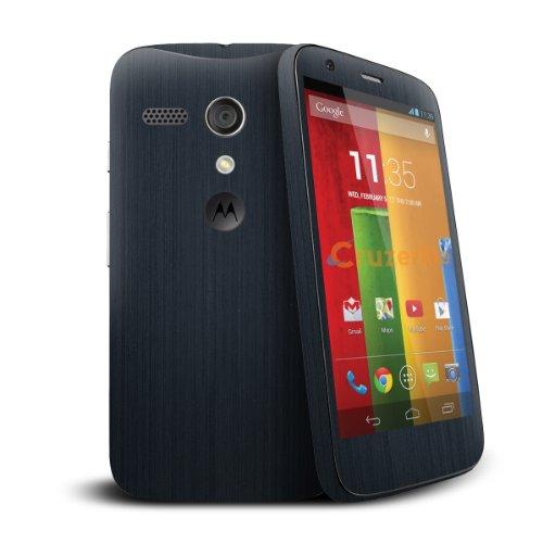 Cruzerlite Anthracite Skin for the Motorola G - Retail Packaging