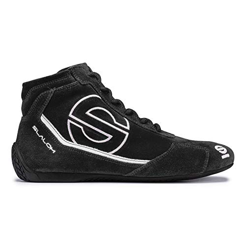 8b10b9a5a0e8 Sparco Slalom RB-3 Racing Shoes 01235 (Size 48, Black)