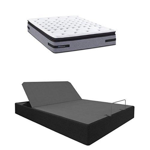 Amazon Com Sealy Posturepedic Fincastle Plush Euro Pillow Top