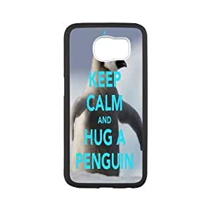 Personalized Penguin Cute S6 Cover Case, Penguin Cute DIY Phone Case for Samsung Galaxy S6 at Lzzcase