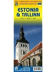 Estonia 1:400,000 & Tallinn 1:8,000 Travel Map by ITM Canada (2011-02-10)