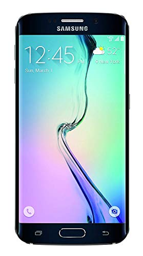 Samsung Galaxy S6 Edge G925a 64GB Unlocked GSM 4G LTE Octa-Core Smartphone w/ 16MP Camera - Black Sapphire-AT&T
