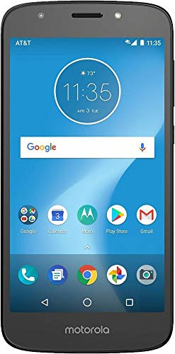 AT&T Moto E5 Play with 16GB Memory Prepaid Cell Phone - Black - Carrier Locked to - Phone Carriers Prepaid