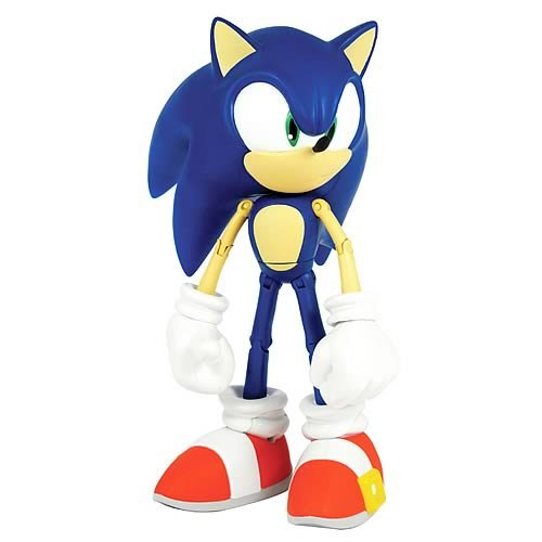Sonic The Hedgehog 10 Inch Deluxe Action Figure Sonic Over 12 Points of Artic (Metal Sonic 10 Inch Figure)