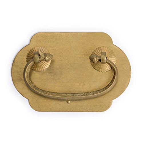 CBH Wealthy Brass Drawer Handle Hardware Pulls - Set of 2