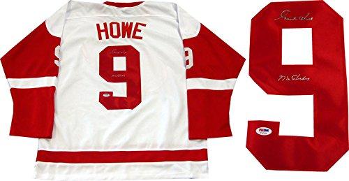 Gordie-Howe-Mr-Hockey-Autographed-Detroit-Red-Wings-Jersey-PSA