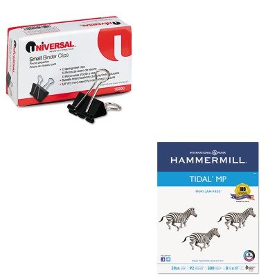 KITHAM162008UNV10200 - Value Kit - Hammermill Everyday Copy And Print Paper (HAM162008) and Universal Small Binder Clips (UNV10200)