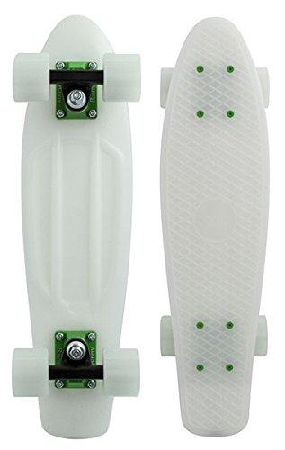 Penny Classics Complete Skateboard, Gamma Glow Green, 22 L