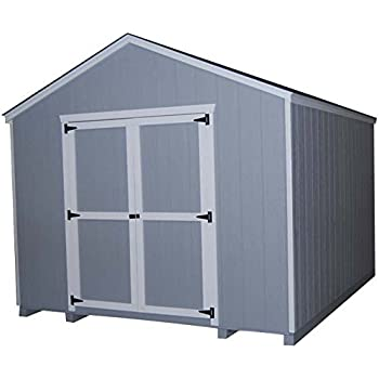 Little Cottage Company Value Gable Shed 10'x20' Precut Shed Kit