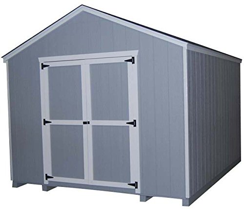 Little Cottage Company Value Gable Shed 10'x16' Precut Shed Kit (16' Storage Building Kit)