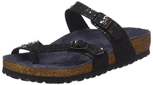 Birkenstock Mayari Birko Flor Sandals 8 B(M) US Women / 6 D(M) US Metalic Stones ()