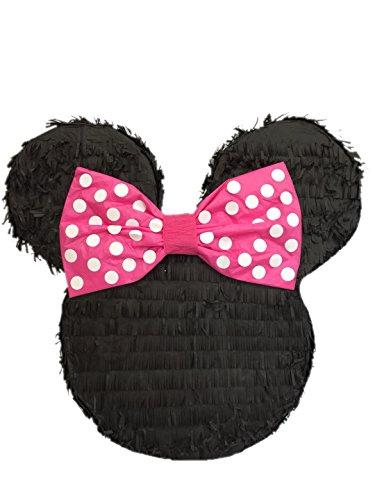 APINATA4U Mouse Ears with Pink Bow Pinata 19