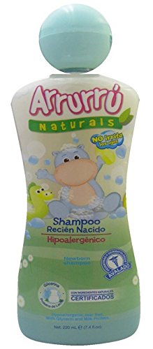 Amazon.com: ARRURRU SHAMPOO RECIEN NACIDO 220 ML - HYPOALERGENICO ...