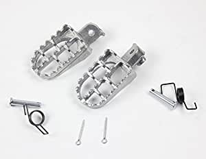 Foot Pegs Pedals For Yamaha TW200 PW50 PW80 Pit Dirt Bike SSR SDG Footrests Part