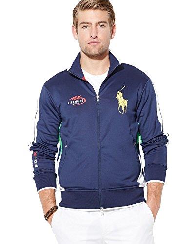 Ralph Lauren RLX Open 2014 Track Jacket Sweater Sports Sweatshirt S
