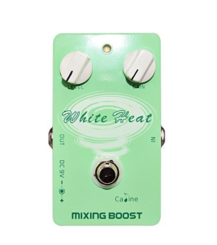 Caline USA, CP-29 white heat Mixing Boost Guitar Effect by Caline