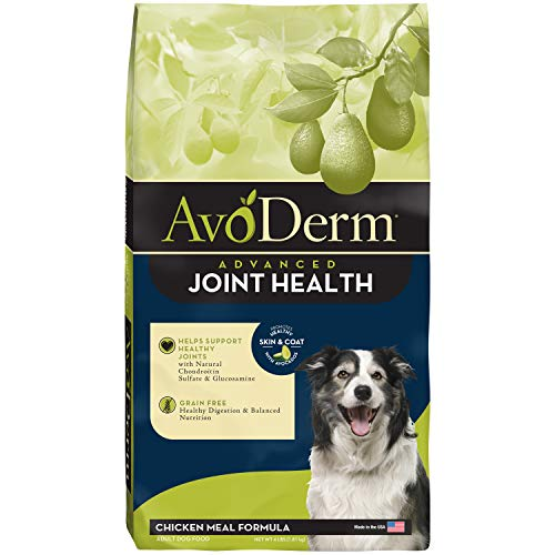 Avoderm Joint Health Grain Free Dry Dog Food, Chicken Meal Recipe, 4-Pounds