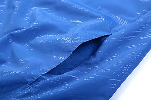 SANKE Mujer Super ligero chaqueta de viaje al aire libre de protección solar de la piel Fushica