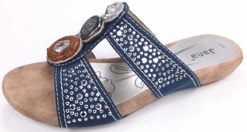 Jana - Sandalias de vestir para mujer azul azul azul - Denim
