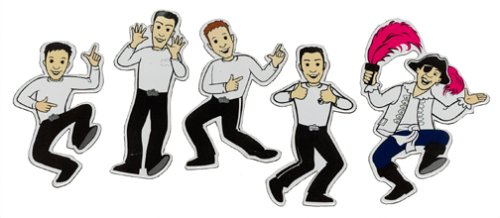 Color In Magnet Activity Set- The Wiggles
