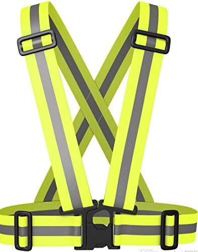 Worktex Safety High Visibility Sport/Work Safety Vest and Sleeves, Lime, Size Adult S M L