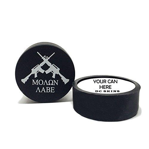 9a3c0e977912 Schmitty's Snuff Original Mountain Herbal Chew Fake Dip No Tobacco 5 Can  Pack (Molon Labe Skin)