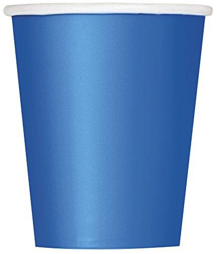 9oz Royal Blue Paper Cups, 8ct