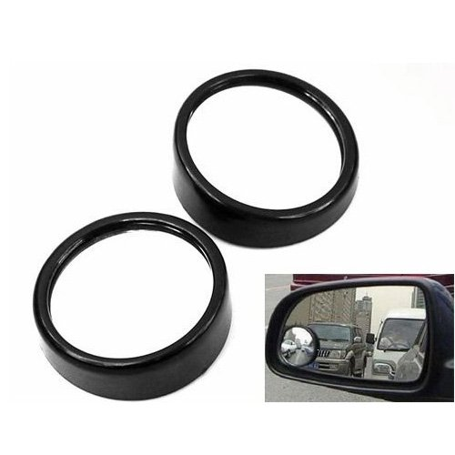 Sodial- 2 Pcs Blind Spot Car Mirror Wide Angle Convex Mirror