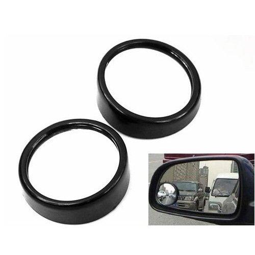 SODIAL(R) 2 x Espejo de Punto Ciego de Coche Espejo Convexo de Gran Angular