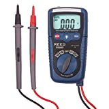 REED Instruments R5009 Multimeter with NCV and Flashlight, 3-in-1